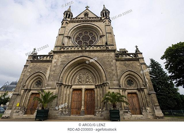 Notre Dame, Epernay, Champagne-Ardenne, France