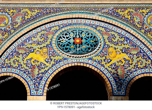 The Golestan Palace in Tehran, Iran
