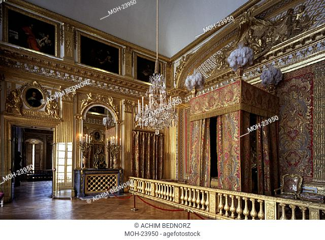 Versailles, Schloß/ Schlafzimmer Ludwig XIV
