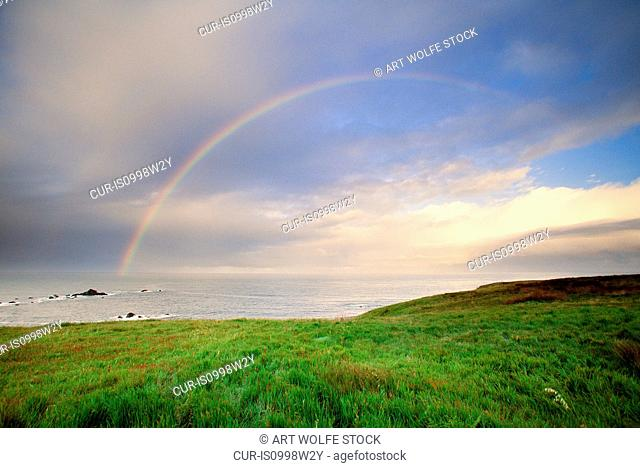Rainbow, Morro Bay, California