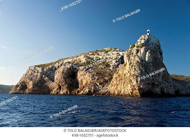 Spain Cabrera Archipelago National Park Cap Llebeig Balearic Islands