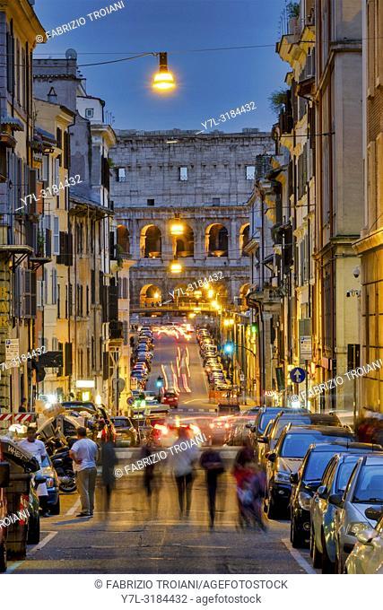 Via dei Serpenti, Rome Italy