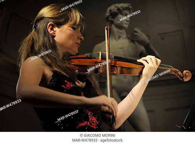 concert to stradivari, Galleria dell'Accademia, Florence