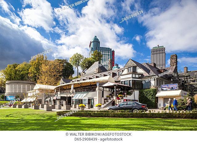 Canada, Ontario, Niagara Falls, Queen Victoria Place Restaurant