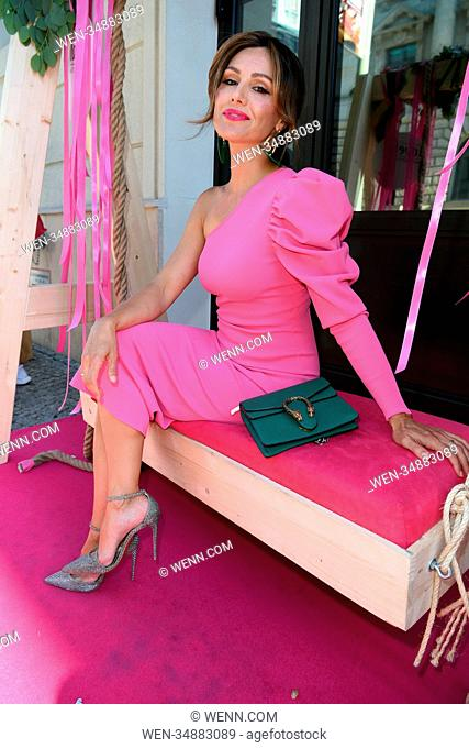 Grazia Pink Hour as part of Berlin Fashion Week Spring/Summer 2019 at Titanic Hotel in Mitte. Featuring: Nazan Eckes Where: Berlin