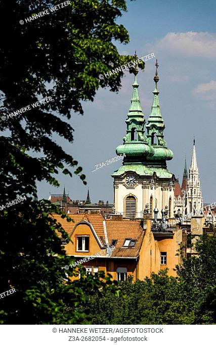 Upper Watertown's St. Anne Church in Budapest, Hungary