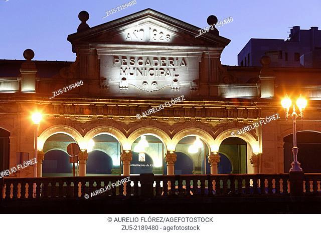 Former Municipal Fish Administrative Building. Gijón, Asturias, Spain. Author: Miguel García de la Cruz