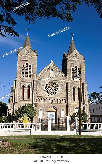 Caribbean, St Kitts and Nevis, St Kitts, Basseterre, Immaculate Conception Cathedral