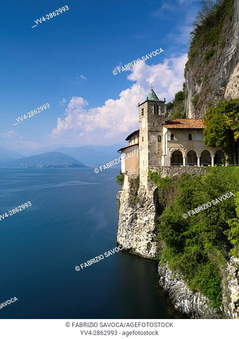 Hermitage of Santa Caterina del Sasso (Eremo di Santa Caterina del Sasso) is a Roman Catholic monastery built on a rocky ridge on the eastern shore of Lake...