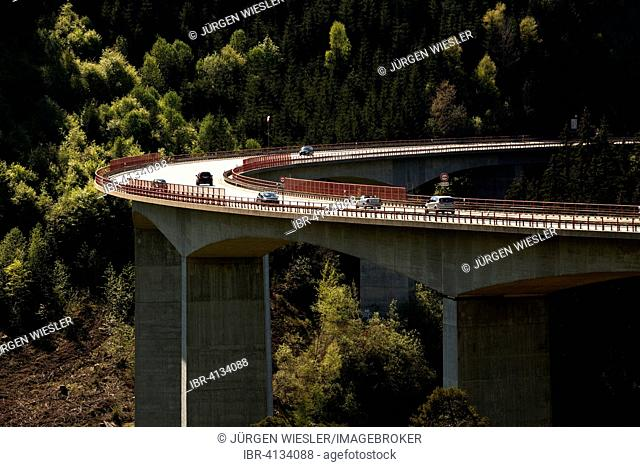 Gutach Valley Bridge, federal road 31, near Titisee-Neustadt, Black Forest, Baden-Württemberg, Germany