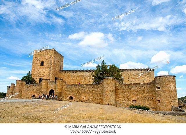 Castle. Pedraza, Segovia province, Castilla Leon, Spain