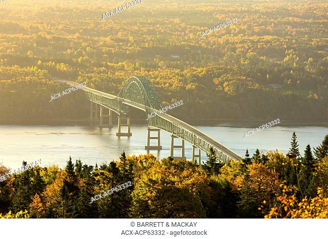Seal Island Bridge, Cape Breton, Nova Scotia, Canada
