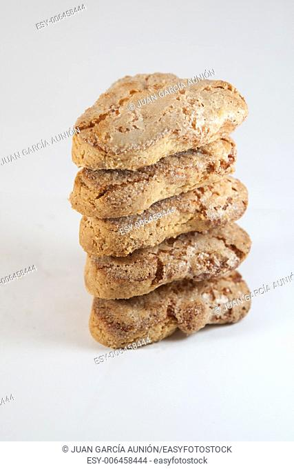 Typical christmas spanish sweets. They are made from flour, almonds and lard
