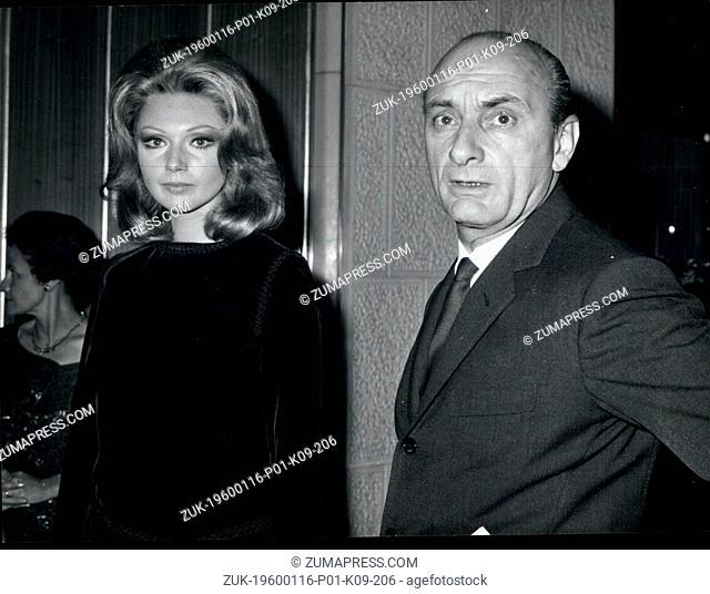 1967 - Actress Sylva Koscina announces the end of her marriage with Raimondo Castelli. The wedding was celebrated about ten years ago in Mexico City