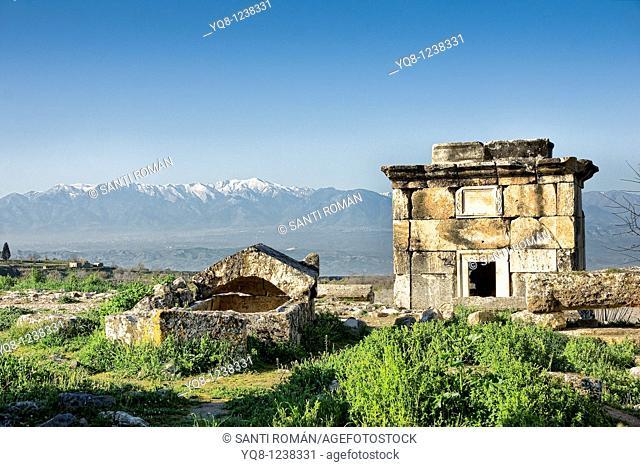 hierapolis, necropolis, Aegean, Turkey