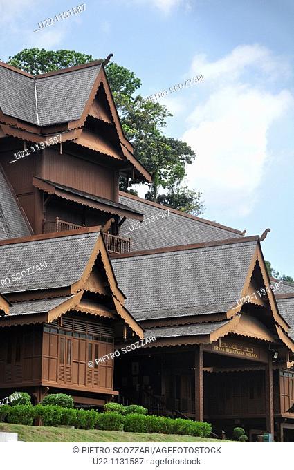 Malacca (Malaysia): the Melaka Sultanate Palace (Cultural Museum)