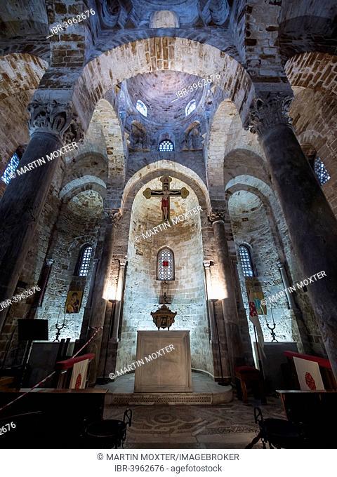 Chiesa della Martorana church, Piazza Bellini, Palermo, Sicily, Italy