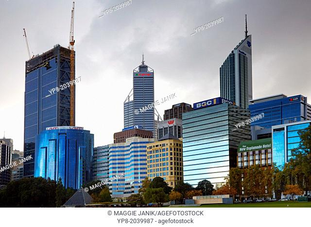City Centre Skyline, Perth, Australia