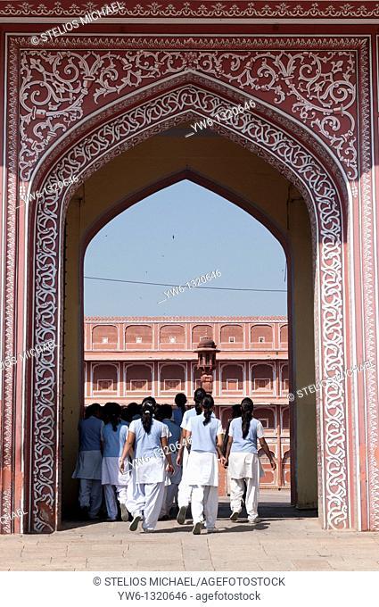 Jaipur Palace Gate