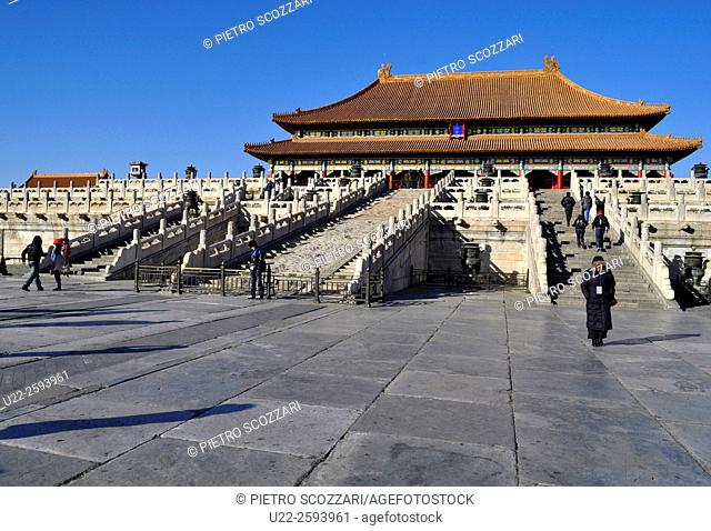 China, Beijing, The Forbidden City...