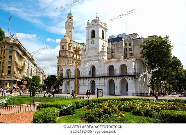 Cabildo de Buenos Aires. Plaza de Mayo. Buenos Aires. Argentina
