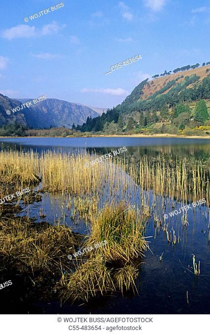 Lower Lake. Glendalough. Wicklow Gap. Co. Wicklow. Ireland
