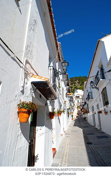 The old town of Mijas in Costa del Sol, Andalusia, Spain