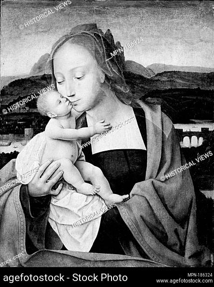 Virgin and Child. Artist: Master of the Mansi Magdalen (Netherlandish, active first quarter 16th century); Medium: Oil on wood; Dimensions: 19 1/8 x 15 1/4 in