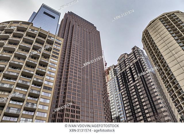 Modern architecture, Philadelphia, Pennsylvania, USA