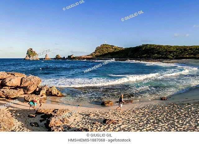 France, Guadeloupe (French West Indies), Grande Terre, Pointe des Chateaux
