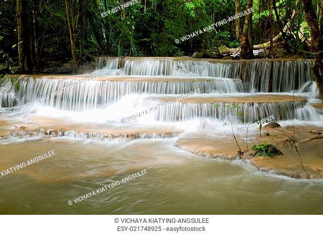 Beautiful Tropical Watefall
