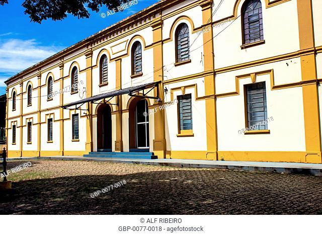 Railway Station, built in 1885, Ferroviáio Museum, Araraquara, São Paulo, Brazil