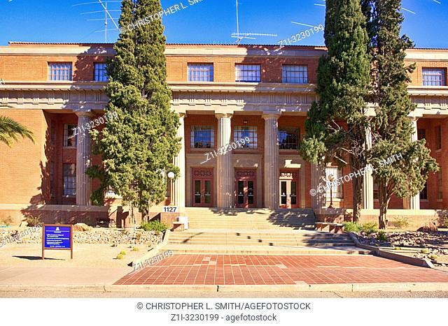 UA College of Engineering building on the University of Arizona Campus in Tucson AZ