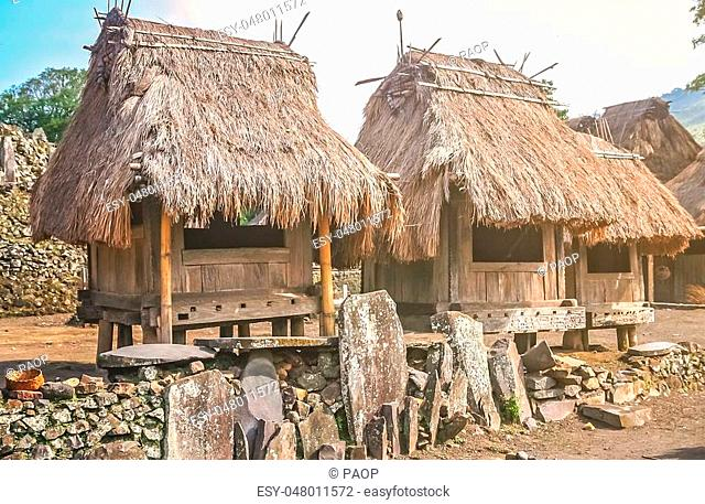 Hut Flores Indonesia Stock Photos And Images Age Fotostock