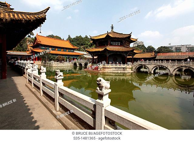 Yuantong Temple the famous Buddhist temple build during Tang Dynasty  Kunming  China