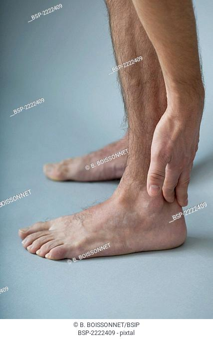 ANKLE PAIN MAN Model