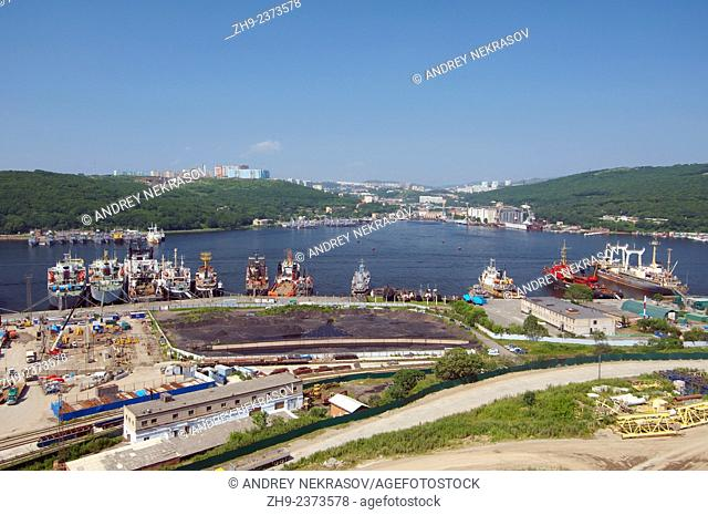 port, Vladivostok, Far East, Primorsky Krai, Russian Federation