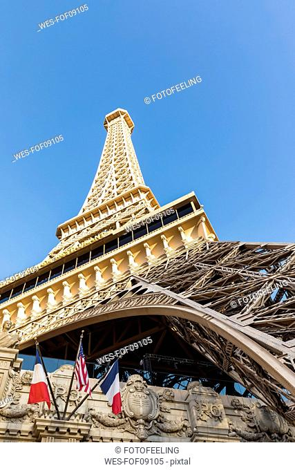USA, Nevada, Las Vegas, Strip, Eiffel Tower