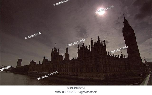 WS Houses of Parliament / Westminster, London, UK