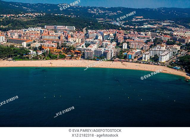 Fenals Beach. Lloret de Mar