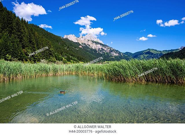 Haldensee lake Tyrol