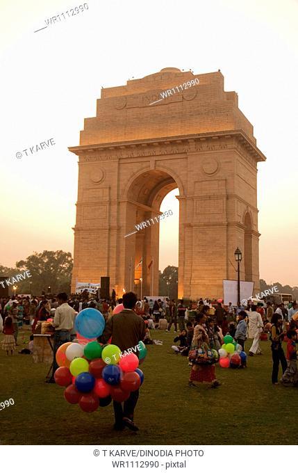 India Gate New Delhi India Asia