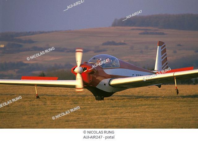 Aerian Leisure - Aircraft - SF 28 - Takeoff
