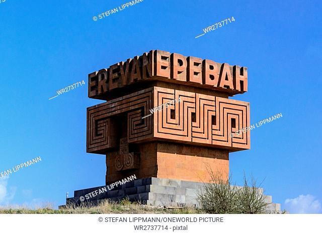 Armenia, Yerevan, Kentron, monument