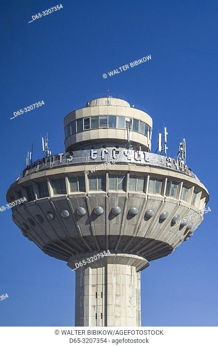 Armenia, Yerevan, Yerevan Zvarnots Airport, EVN, Soviet-era control tower building