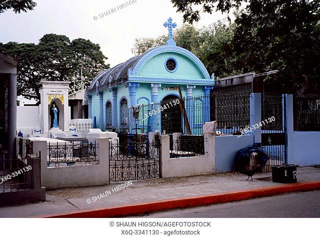 Manila North Cemetery in Manila in Luzon Metro Manila in the Philippines in Southeast Asia Far East
