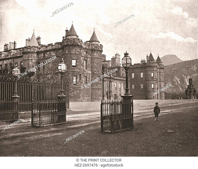 Holyroodhouse, Edinburgh, Scotland, 1894. Creator: Unknown