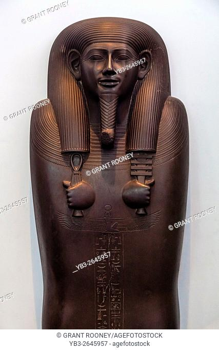 The Sarcophagus Lid Of Sisobek, The British Museum, London, England