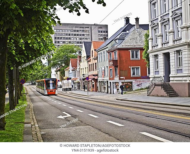 Streetcar in Bergen, Norway