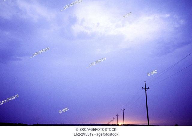 Sunset. Formentera, Balearic Islands. Spain